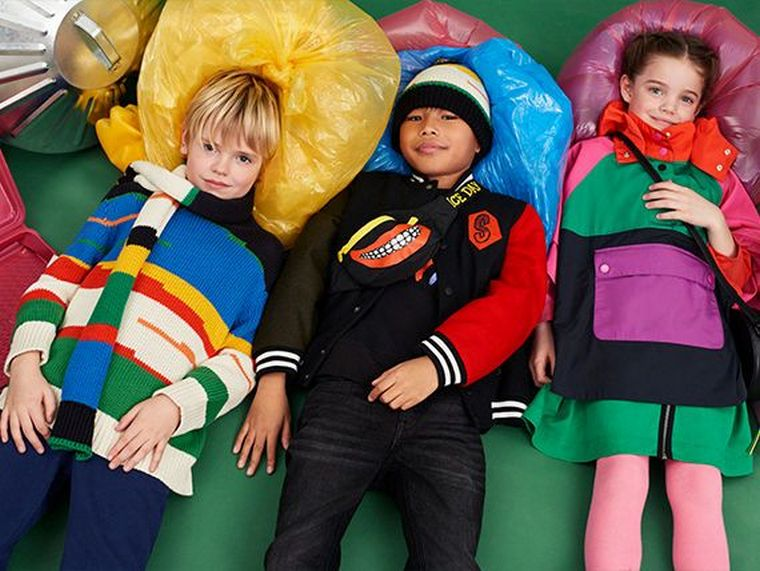 kids fashion bright colors