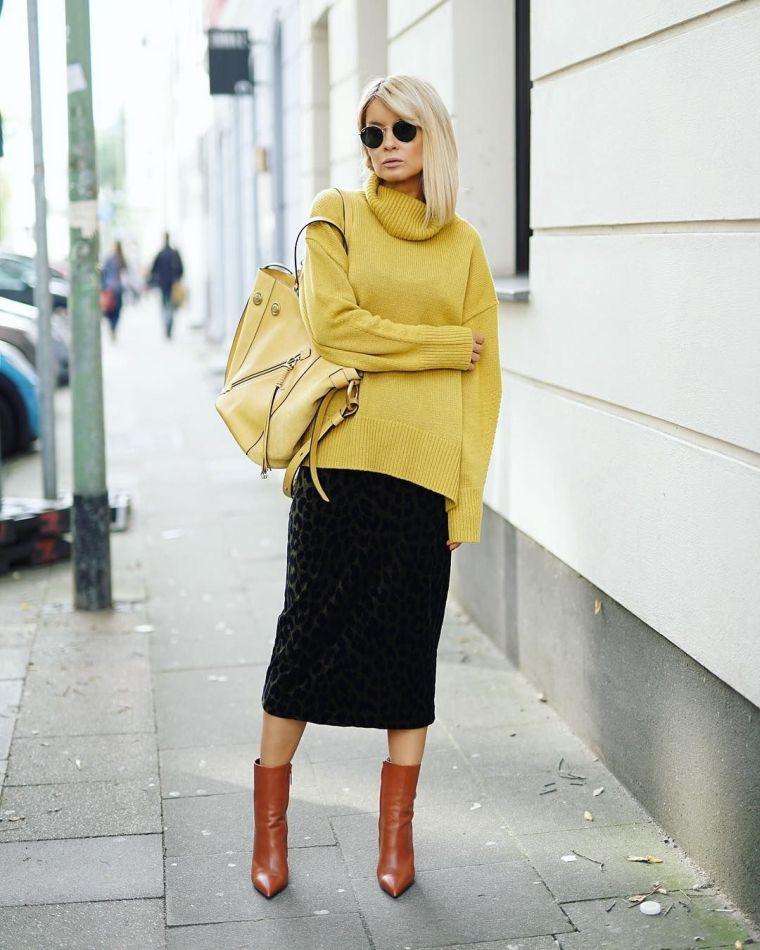 fall fashion trend 2020 yellow black
