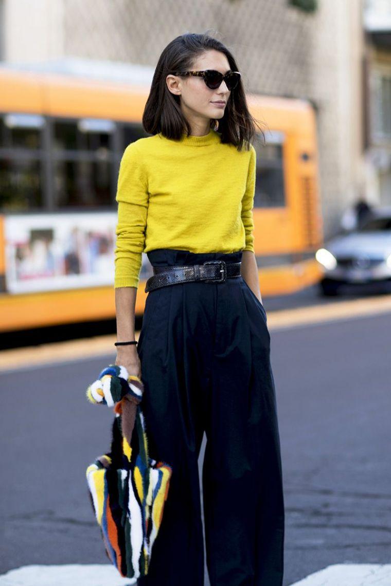 woman fashion outfit