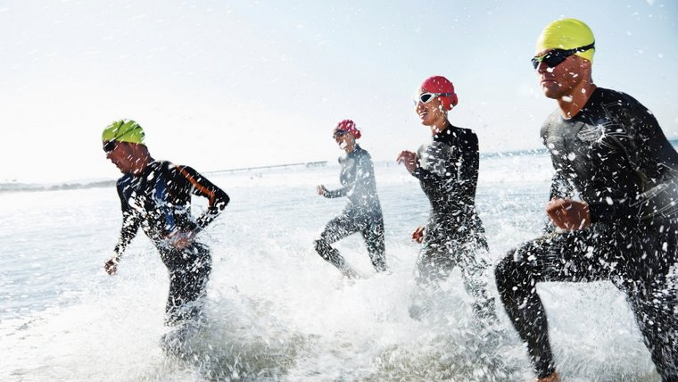 triathlon be careful so sick