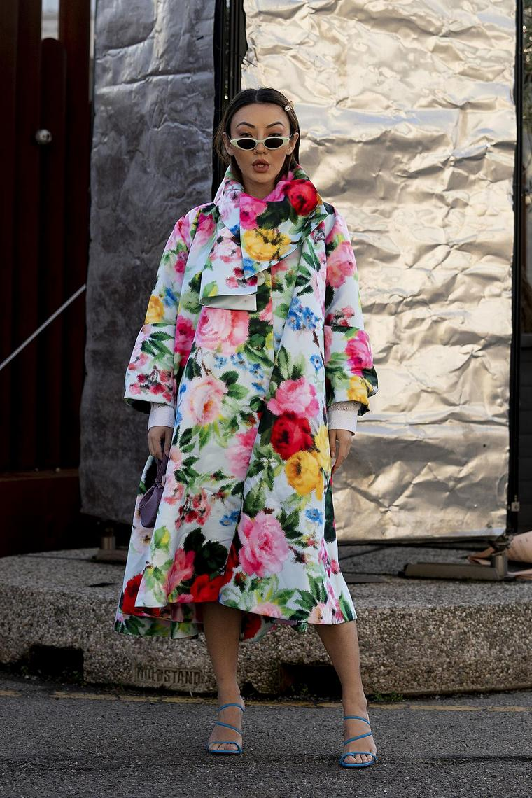 floral top woman design