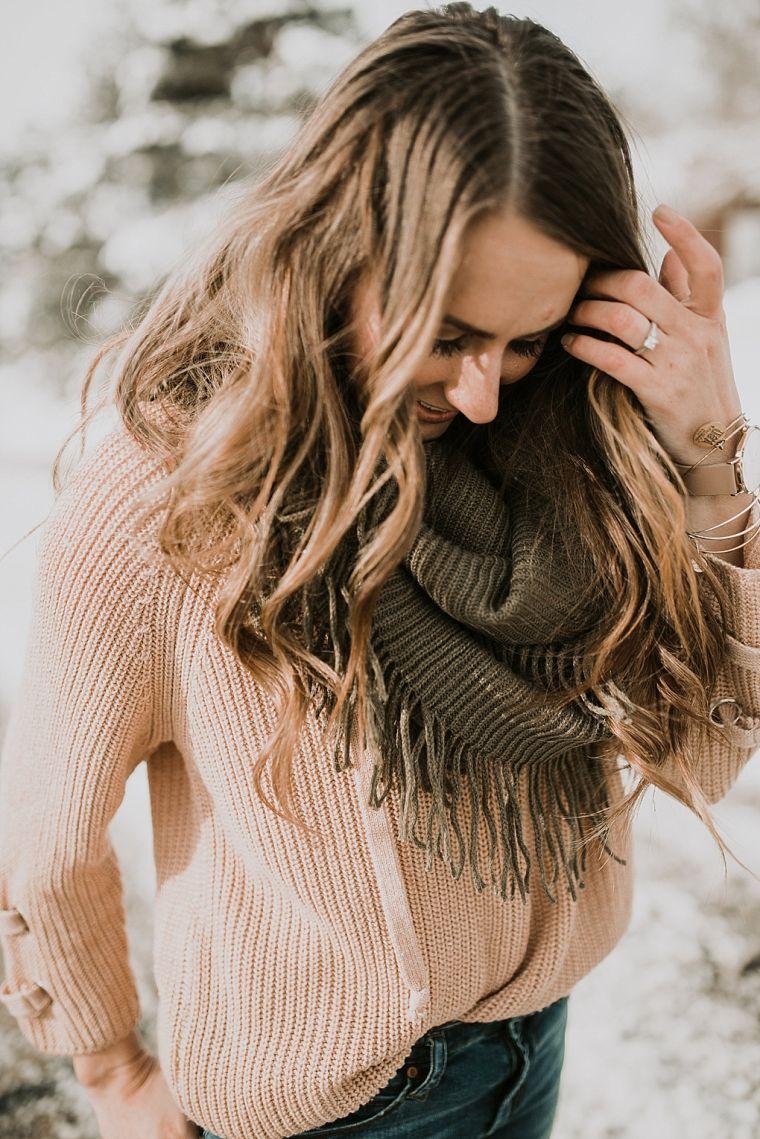 écharpe infinité pour femme
