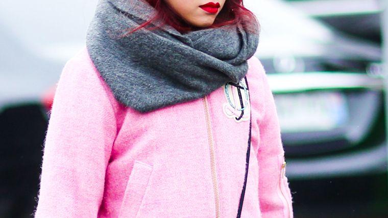 écharpe infinité à la mode