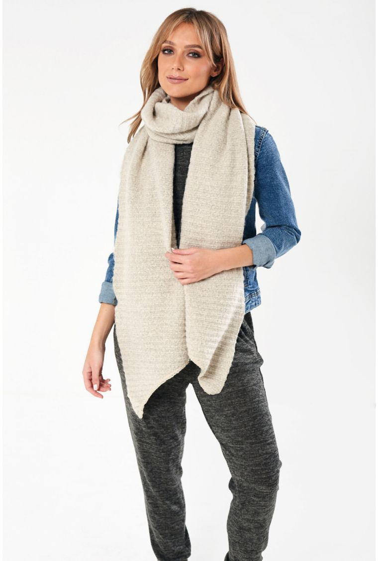 écharpe longue pour l'hiver
