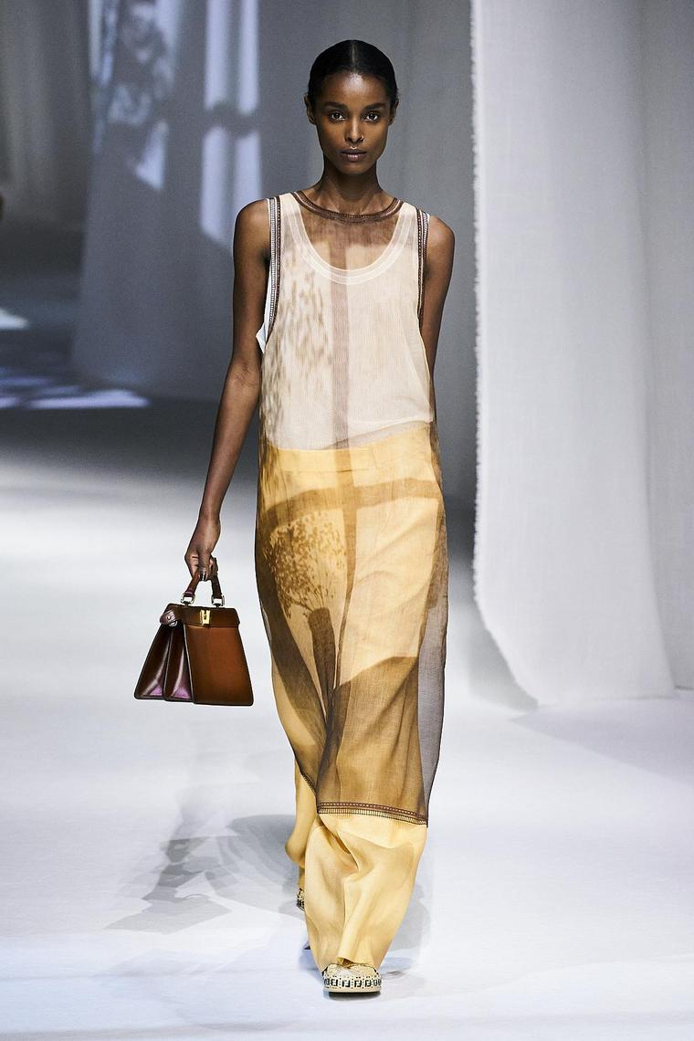 fendi 2020 débardeur top long