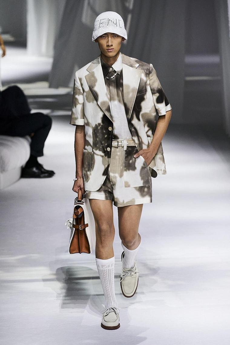 fendi mode homme style safari