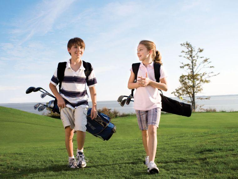 golf pour enfant