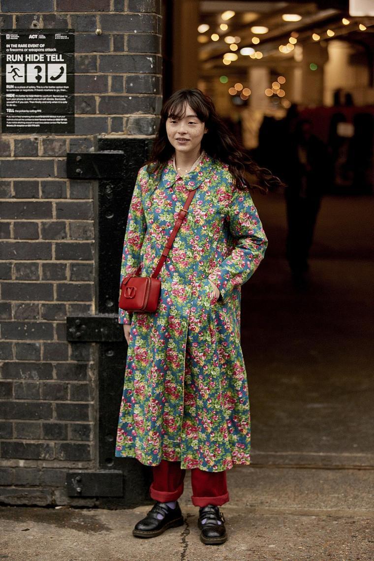 floral pattern top dress