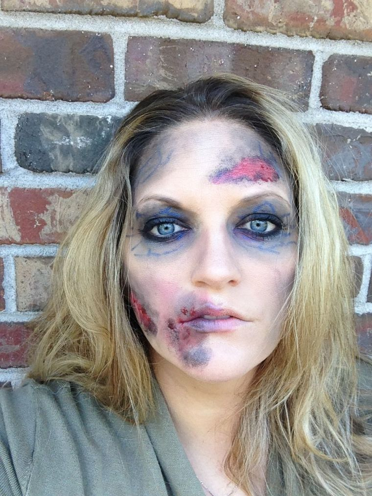 idée pour maquillage Halloween zombie