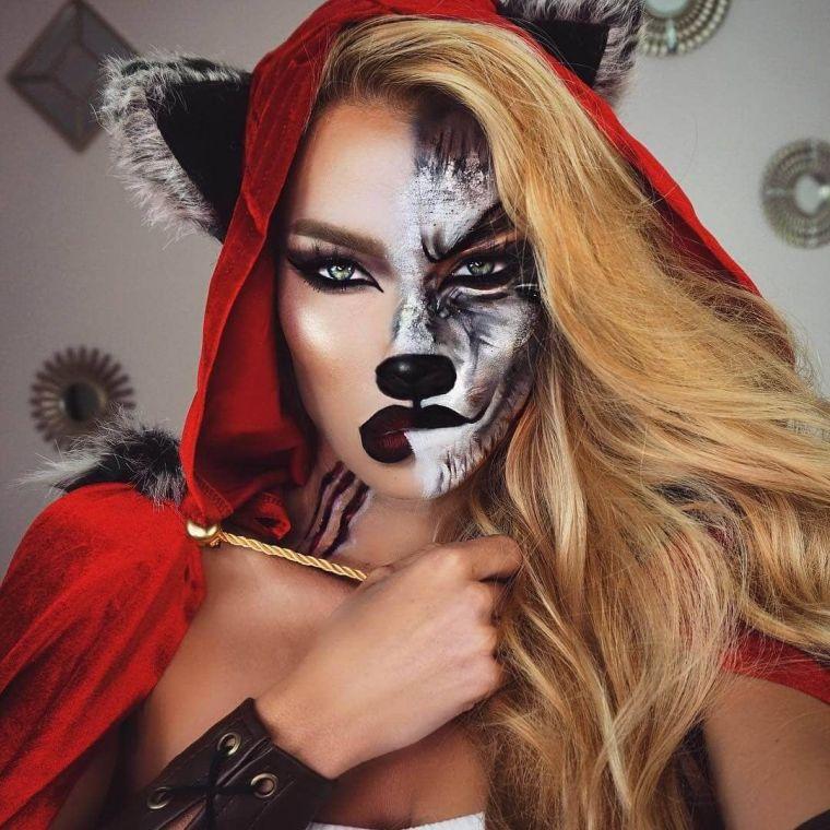 idée de maquillage Halloween