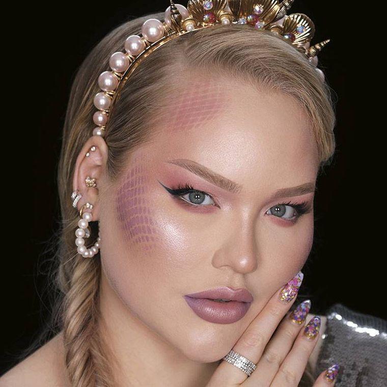 Idée de maquillage sirène