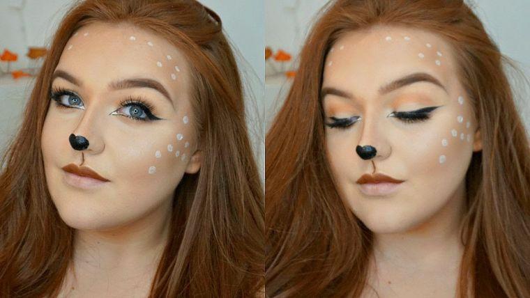 maquillage original pour Halloween