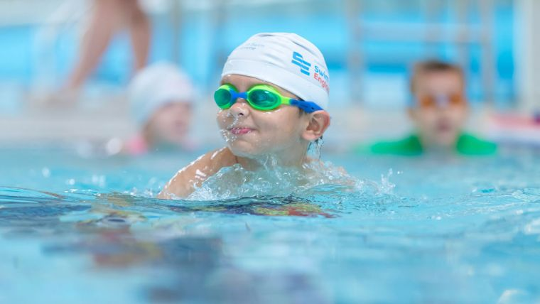 natation pour enfant