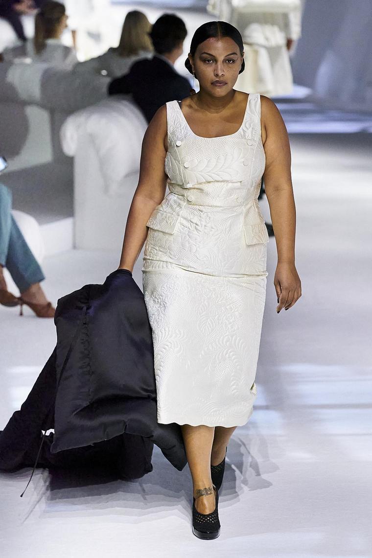retour style cubain ensemble blanc