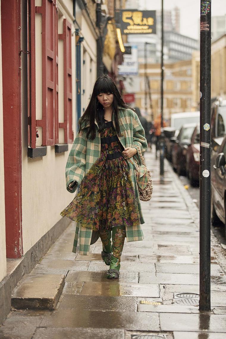 dress boots floral pattern