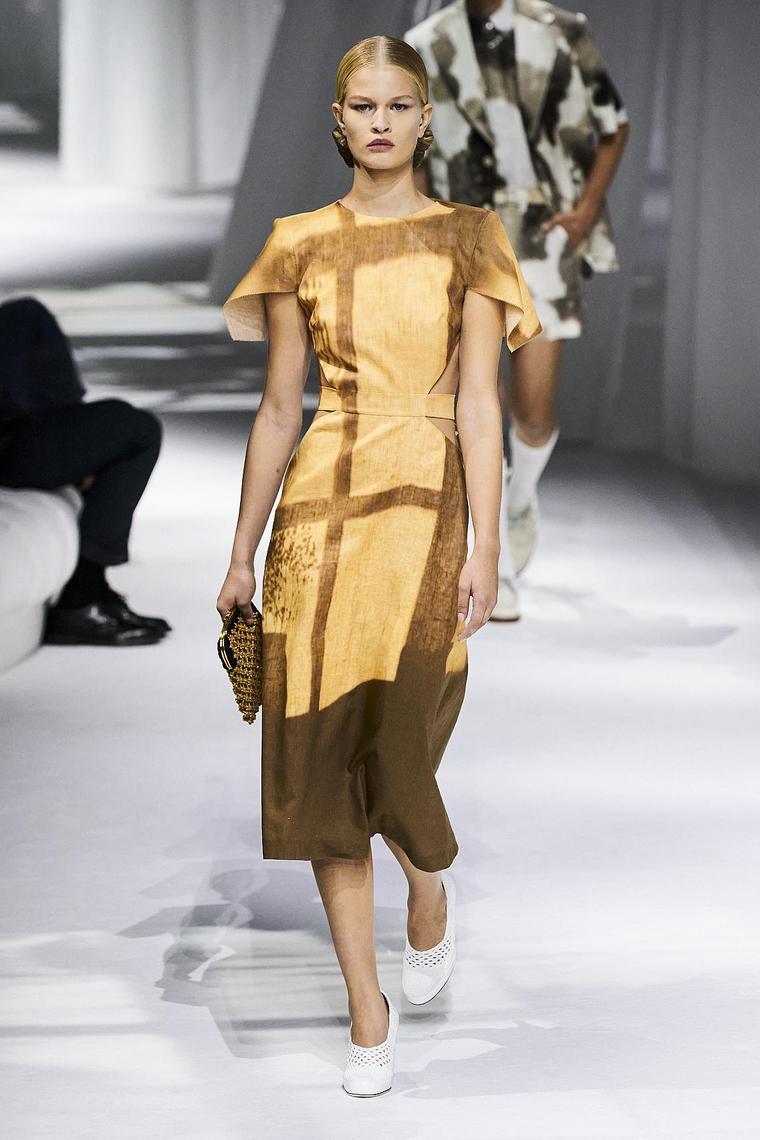 robe fendi zeste africain