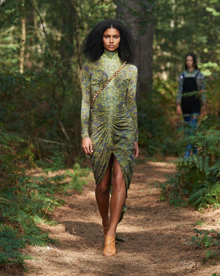 robe imprimée pour femme