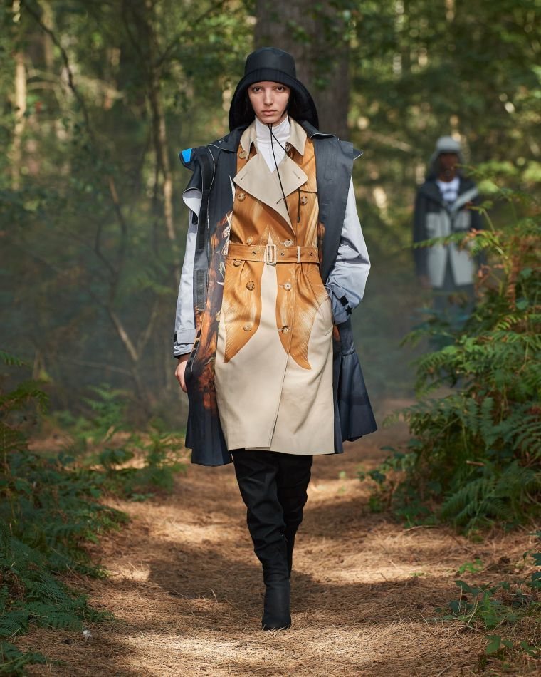 trench coat de marque Burberry