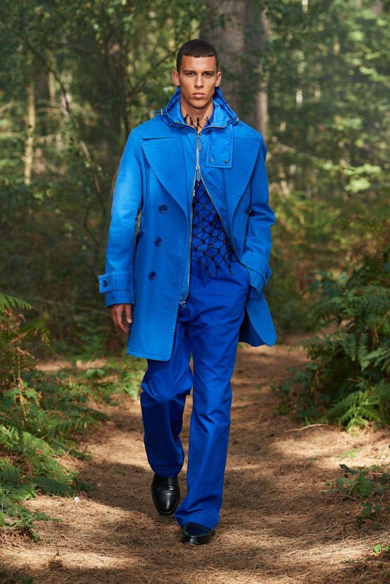 trench coat pour homme par Burberry