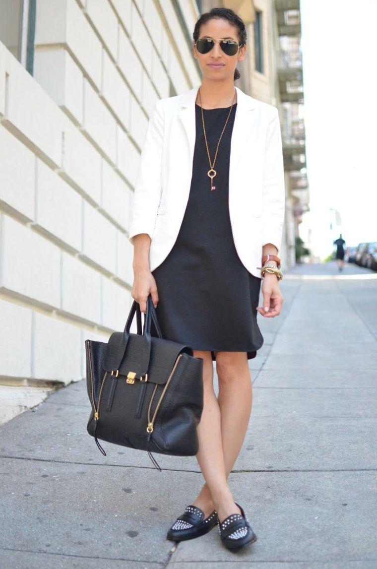 petite robe noire chic pour le travail