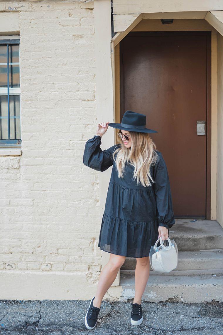 idée de look avec robe noire