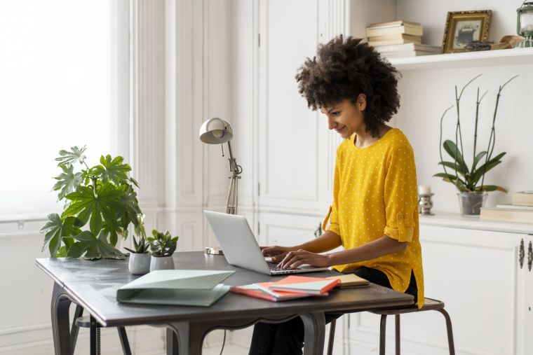 comment travailler de la maison