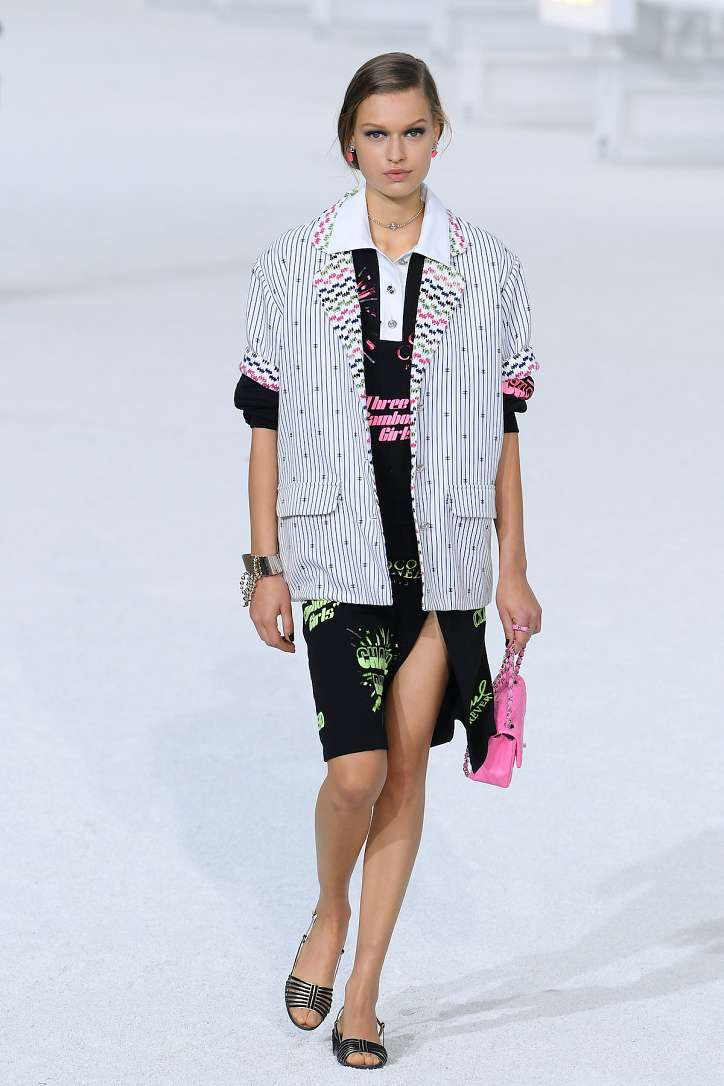 The best looks from the Chanel show spring-summer 2021 photo # 13