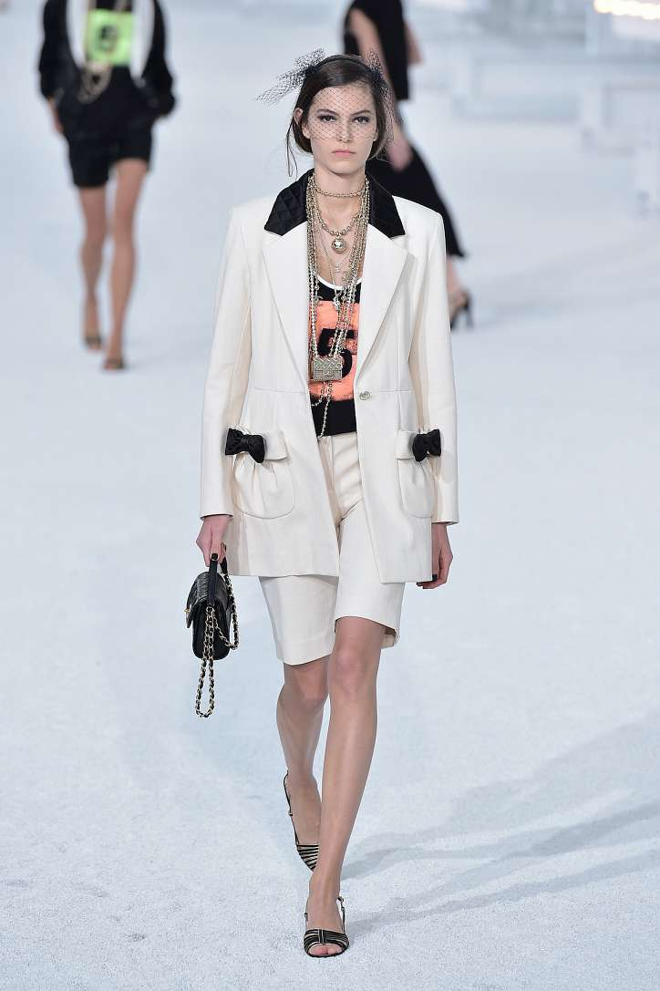 The best looks from the Chanel show spring-summer 2021 photo # 18