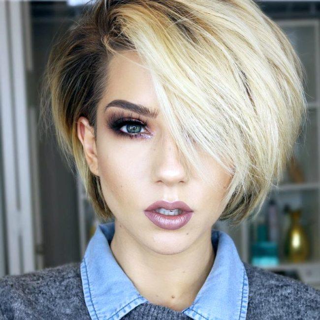 Trendy haircuts 2021-2022 for short hair