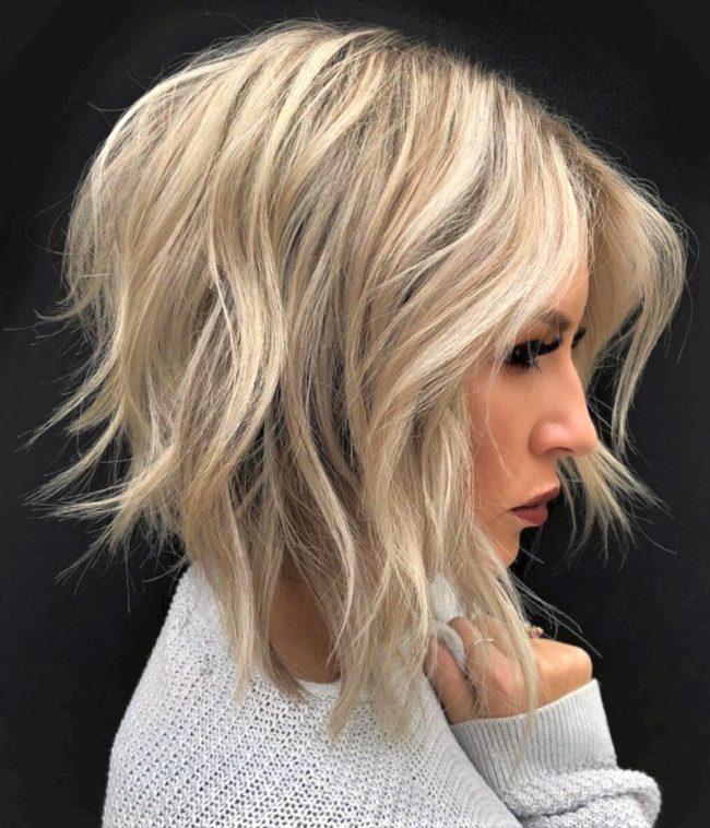 Fashionable bob haircut