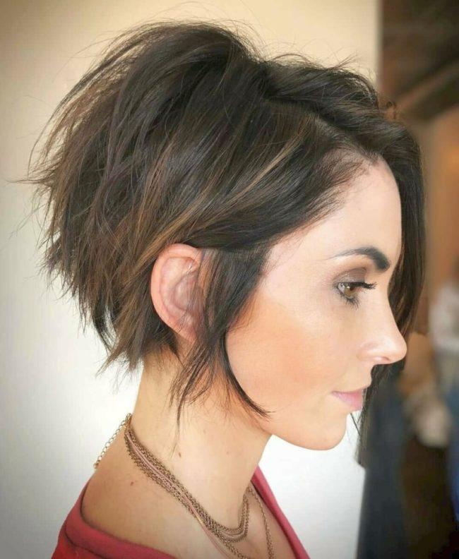 beautiful short haircut