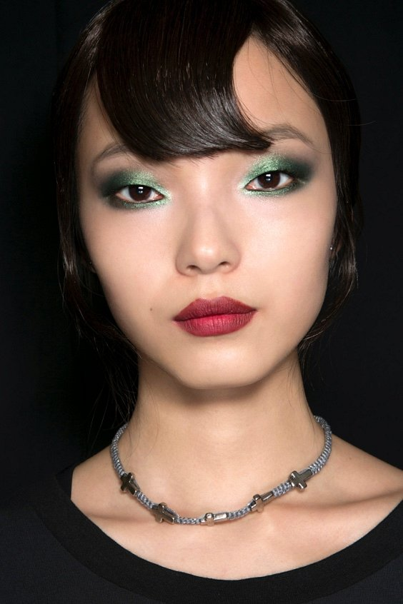 New Year's makeup 2021: ideas for a note photo # 7