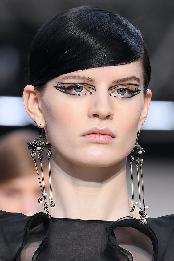 New Year's makeup 2021: ideas for a note photo # 3