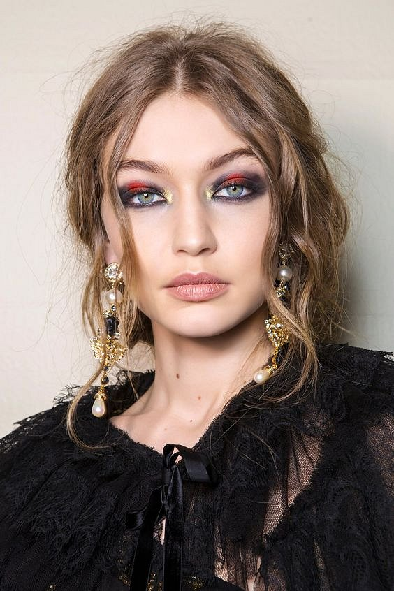 New Year's makeup 2021: ideas for a note photo # 8