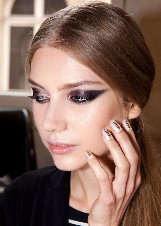 New Year's makeup 2021: ideas for a note photo # 11
