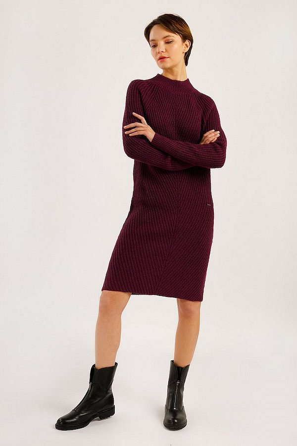 Sweater-dress: top-25 best photos # 16