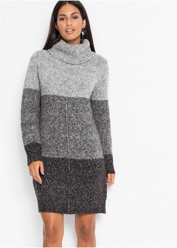 Sweater-dress: top-25 best photos # 19