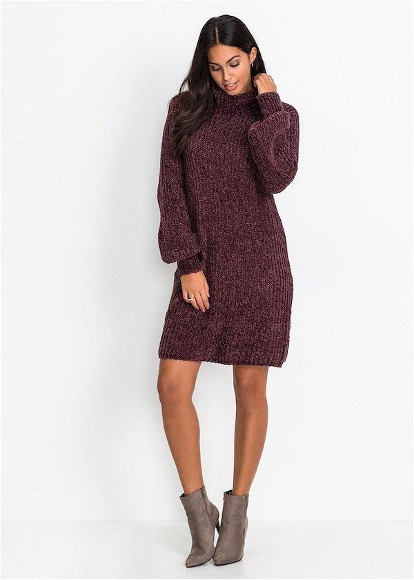 Sweater-dress: top-25 best photos # 25