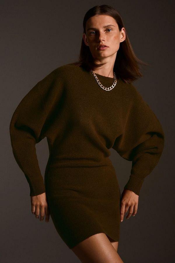 Sweater-dress: top-25 best photos # 30