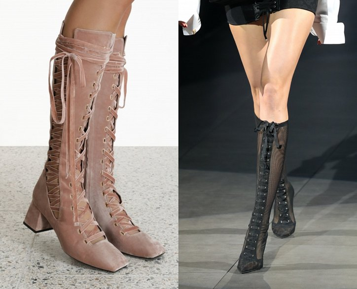 Fashionable boots 2021: trends and news photo # 11