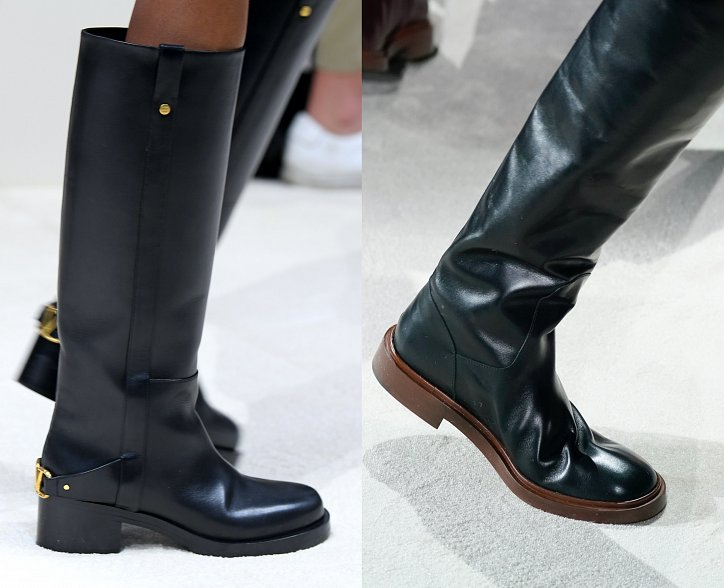 Fashionable boots 2021: trends and news photo # 14
