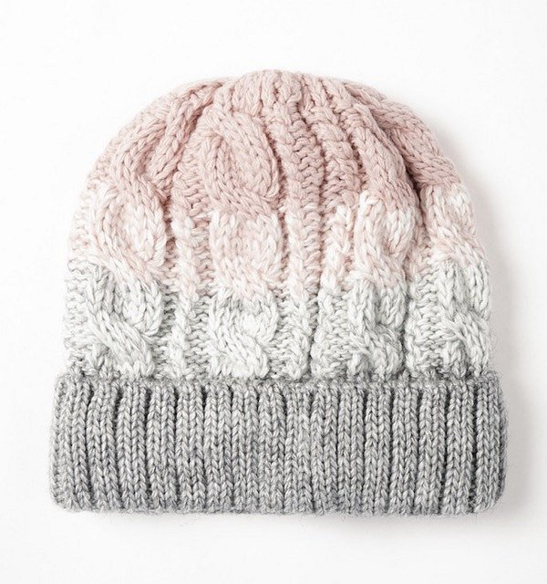 Top-25 best models of knitted hats photo # 5