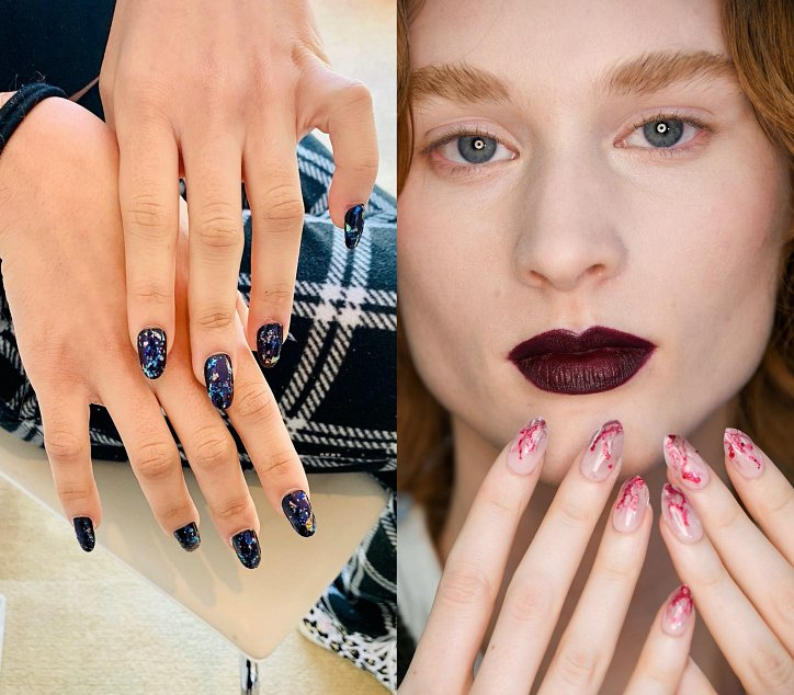 Fashionable manicure fall-winter 2020-2021 photo №9
