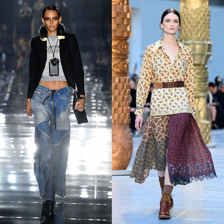 Clothes in the style of patchwork - fashion trend of the season photo # 2
