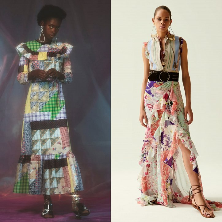 Clothes in the style of patchwork - fashion trend of the season photo # 10