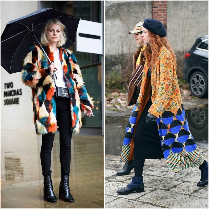 Clothes in the style of patchwork - a fashionable trend of the season photo # 15