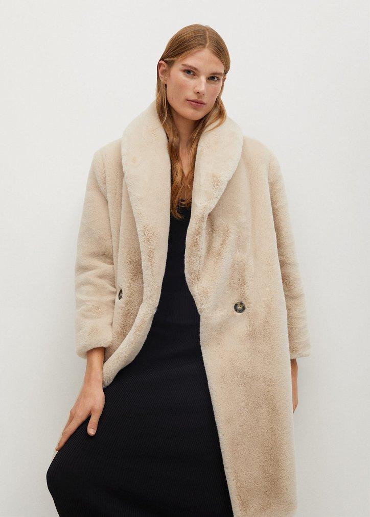 Fashionable fur coats 2021: main trends photo # 6