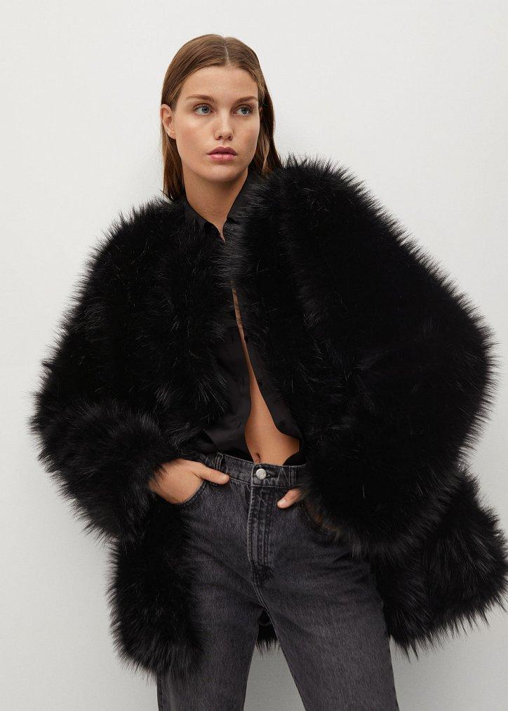 Fashionable fur coats 2021: main trends photo №16