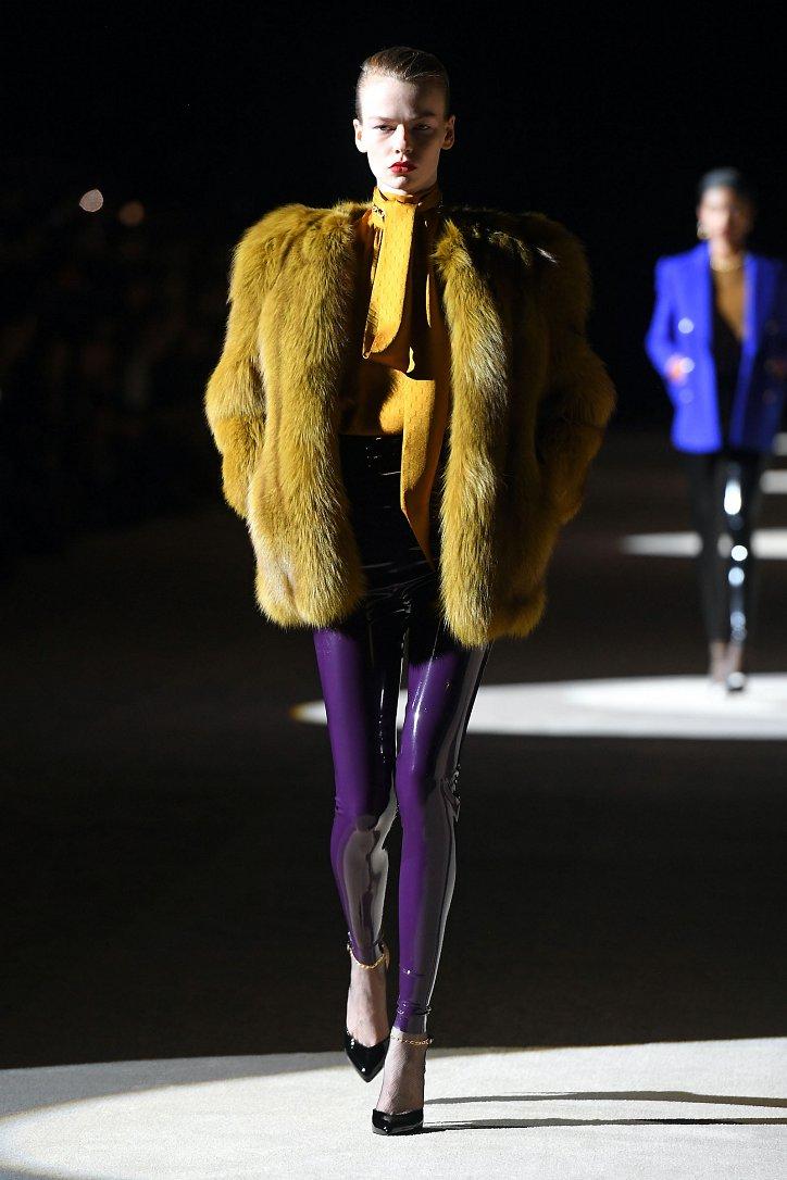 Fashionable fur coats 2021: main trends photo # 15