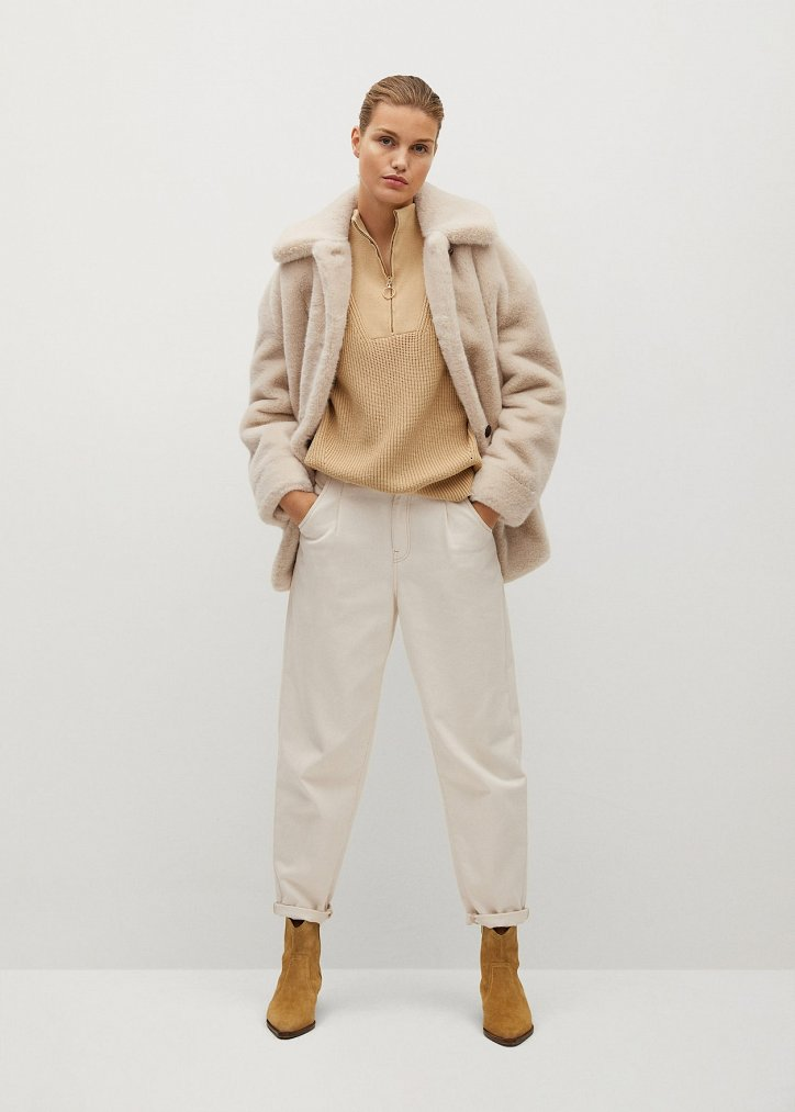 Fashionable fur coats 2021: main trends photo # 20